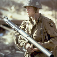 Private Ryan with a bazooka