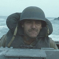 Unidentified coxswain in Saving Private Ryan