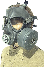 M5-11-7 assault gas mask
