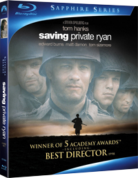 Saving Private Ryan Blu-ray cover